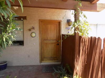 Tucson Townhouse Active Contingent: 3314 E Delma Drive