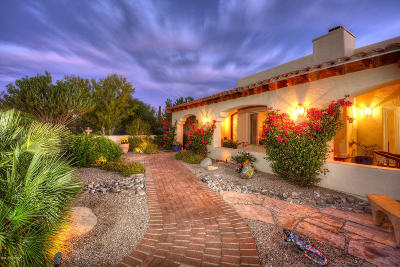 Tucson Single Family Home For Sale: 5383 N Via Alcalde