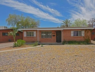 Tucson Single Family Home Active Contingent: 4718 E Lee Street