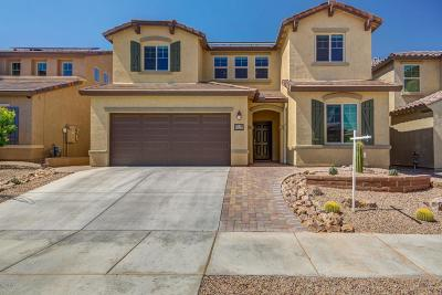 Tucson Single Family Home Active Contingent: 10773 E Winter Gold Drive