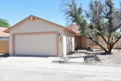 Tucson Single Family Home Active Contingent: 4774 N Laird Way