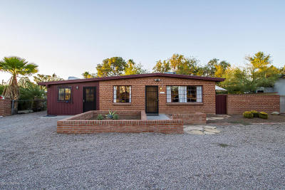 Tucson Single Family Home Active Contingent: 3617 E Seneca Street