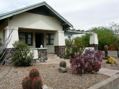 Tucson Single Family Home Active Contingent: 1245 N 1st Avenue
