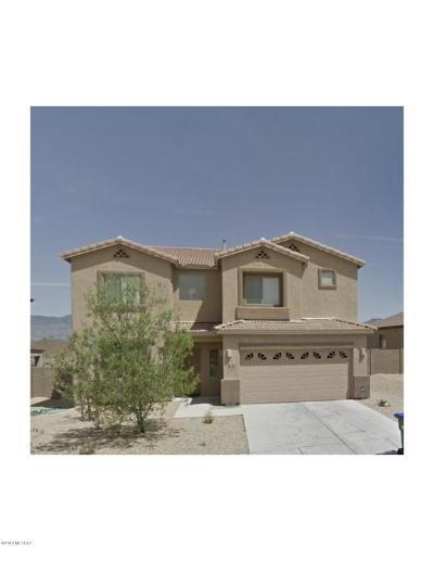 Tucson Single Family Home Active Contingent: 8191 S Placita Bilbao