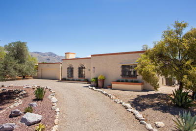Single Family Home Active Contingent: 4720 N Paseo Aquimuri