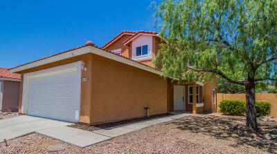 Tucson Single Family Home For Sale: 5100 W Albatross Place