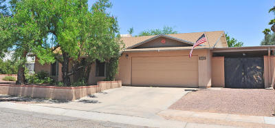 Tucson Single Family Home For Sale: 8280 N Bayou Drive