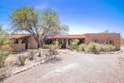 Tucson Single Family Home Active Contingent: 2350 E Calle Los Altos