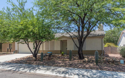 Tucson Single Family Home Active Contingent: 8667 N Golden Moon Way
