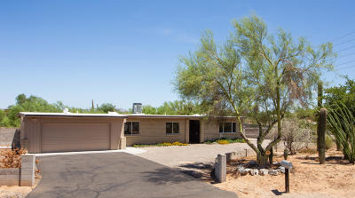 Tucson Single Family Home For Sale: 1414 W Montebella Drive