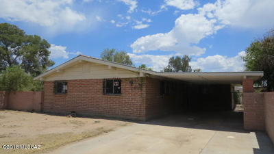 Tucson Single Family Home For Sale: 1245 W Kleindale Road