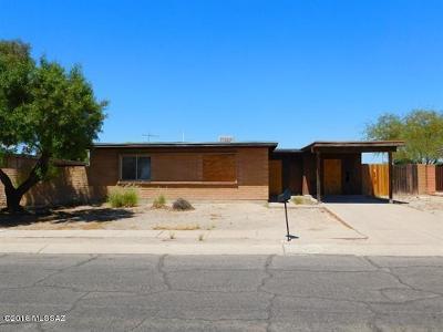 Tucson Single Family Home Active Contingent: 2149 E Dakota Street