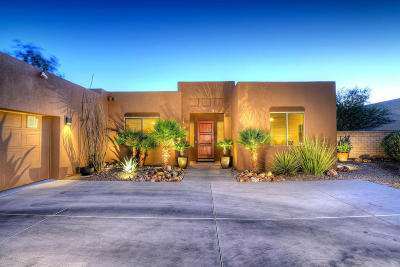 Pima County Single Family Home Active Contingent: 4923 E Parade Ground Loop