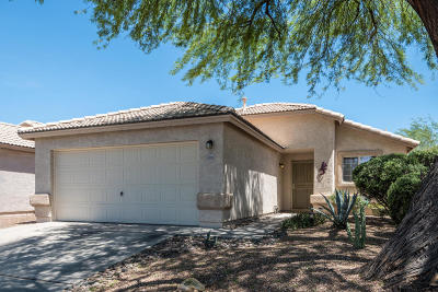 Tucson Single Family Home Active Contingent: 4520 W Rose Mist Way