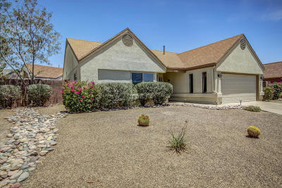 Tucson Single Family Home For Sale: 4331 W Roundstone Place