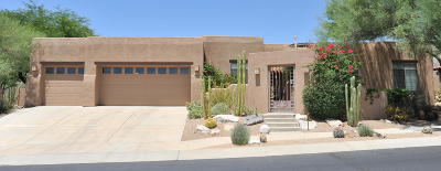 Tucson Single Family Home Active Contingent: 4129 N Ocotillo Canyon Drive