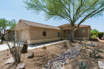 Marana Single Family Home Active Contingent: 5251 W Winding Desert Drive