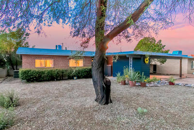 Tucson Single Family Home Active Contingent: 2012 E Blacklidge Drive