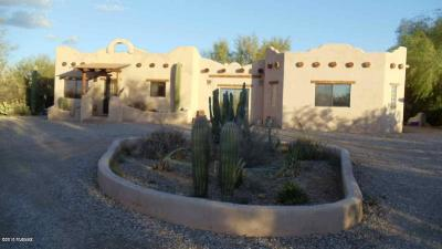 Tucson Single Family Home For Sale: 12215 W Sunset Drive