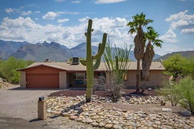 Tucson Single Family Home Active Contingent: 7161 E Painted Quail Circle
