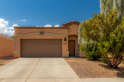 Sahuarita Single Family Home Active Contingent: 394 E Camino Rancho Seco