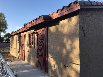 Tucson Single Family Home For Sale: 331 E 33rd Street
