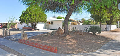 Tucson AZ Single Family Home Active Contingent: $139,000