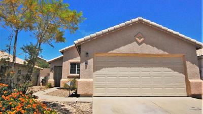 Tucson Single Family Home Active Contingent: 4502 W Rose Mist Way