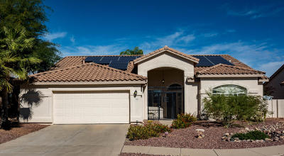 Tucson Single Family Home For Sale: 3787 W Hardydale Circle