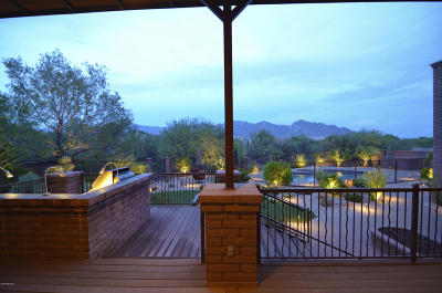 Oro Valley Single Family Home Active Contingent: 11534 N Verch Way