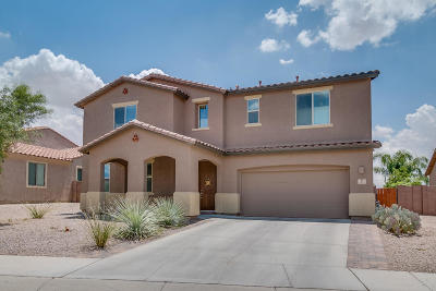 Marana Single Family Home For Sale: 3433 W Bell Song Place
