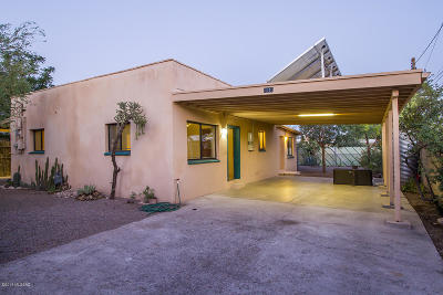 Tucson Single Family Home For Sale: 1040 S Railroad Avenue