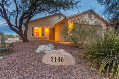 Tucson Single Family Home Active Contingent: 2186 W Silverbell Tree Drive