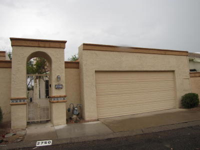 Tucson Townhouse Active Contingent: 2750 W Begonia Place
