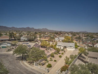 Tucson Single Family Home Active Contingent: 2820 W Clearview Drive