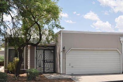 Tucson Townhouse For Sale: 6373 N Willowhaven Drive