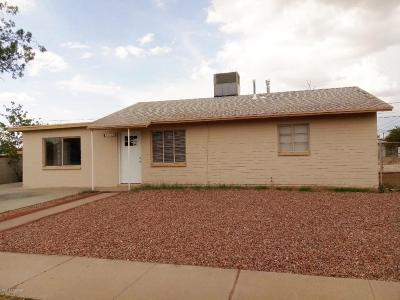Tucson Single Family Home For Sale: 2717 E Coconino Vista