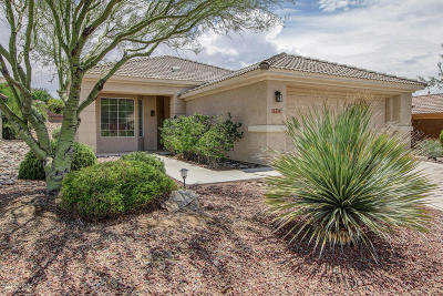Marana Single Family Home Active Contingent: 13574 N Heritage Canyon Drive