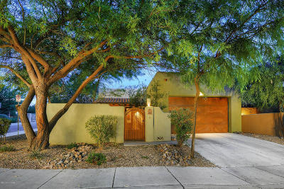 Tucson Single Family Home Active Contingent: 2665 N Sahuara Place