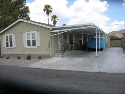 Tucson AZ Manufactured Home Active Contingent: $174,900