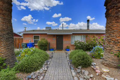 Tucson Single Family Home For Sale: 5013 E 2nd Street