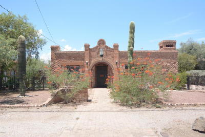 Tucson Single Family Home For Sale: 3313 N Fontana Avenue
