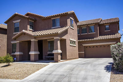 Marana Single Family Home For Sale: 3672 W Scavenger Drive