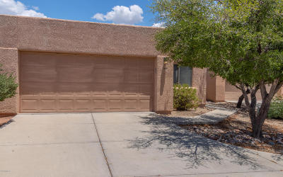 Tucson Single Family Home Active Contingent: 5468 N Mesquite Bosque Way