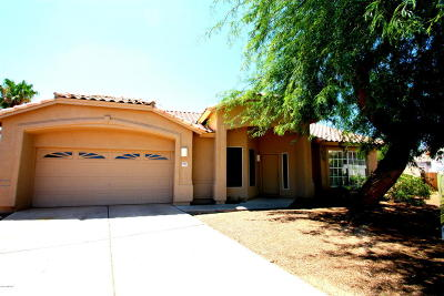 Tucson Single Family Home Active Contingent: 8946 N Willeta Drive