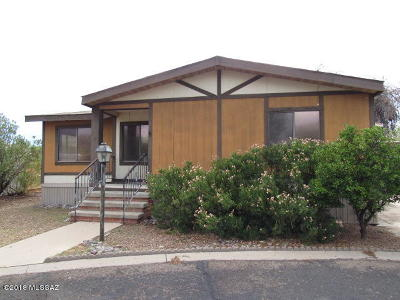 Tucson Manufactured Home For Sale: 6351 N Lime Way