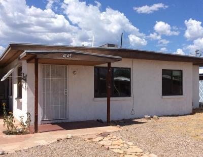 Tucson AZ Single Family Home For Sale: $129,000