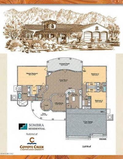 Vail Single Family Home For Sale: 14842 E Diamond F Ranch To Be Built Place