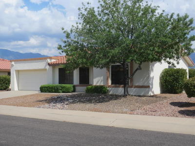 Oro Valley Single Family Home Active Contingent: 14265 N Alamo Canyon Drive