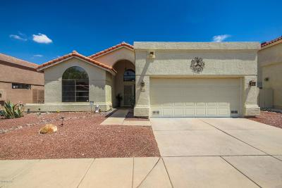 Tucson Single Family Home For Sale: 7743 E Cleary Way